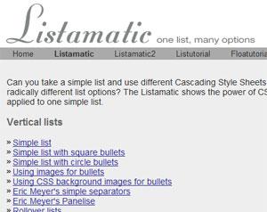 Listamatic