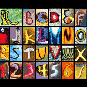 Butterfly Alphabet