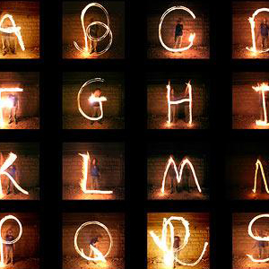Fire Alphabet