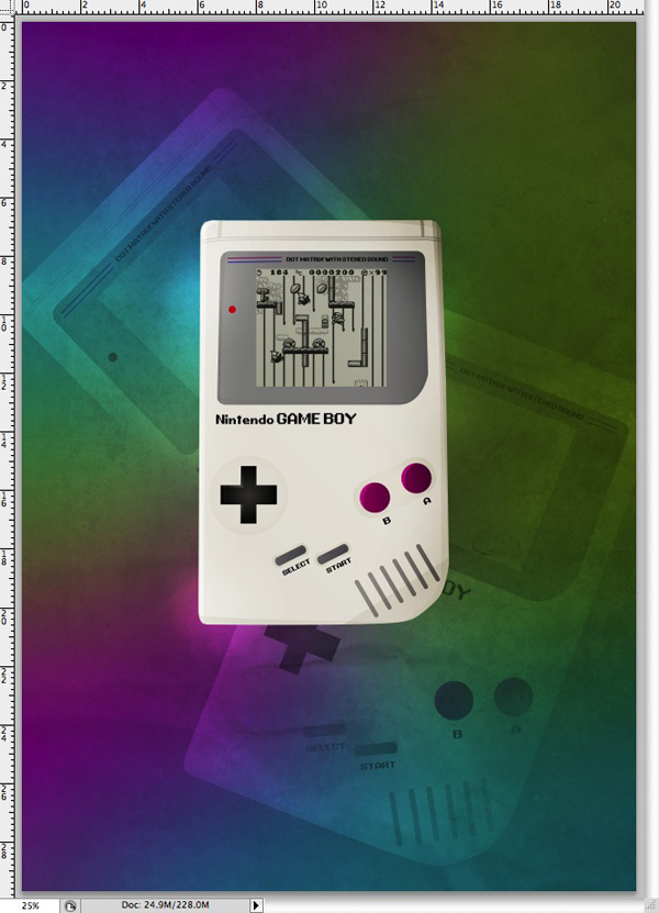 Retro Gameboy Poster