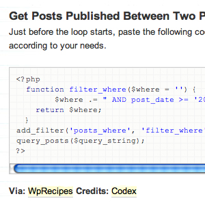 20+ WordPress Recipes (Codes)