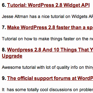 10 Cool WordPress 2.8 Hacks and Tutorials To Use