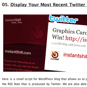 10 Twitter Hacks For Your WordPress Blog