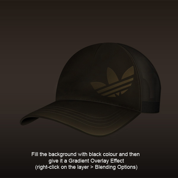 step12b - Design a Realistic 3D Baseball Cap in Photoshop