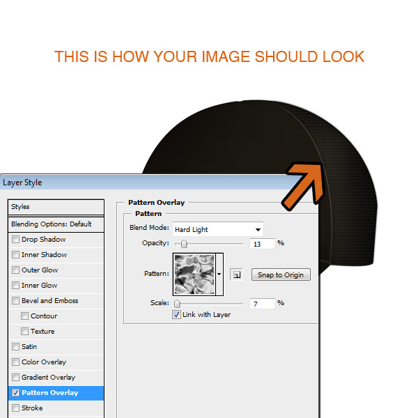 step4 - Design a Realistic 3D Baseball Cap in Photoshop