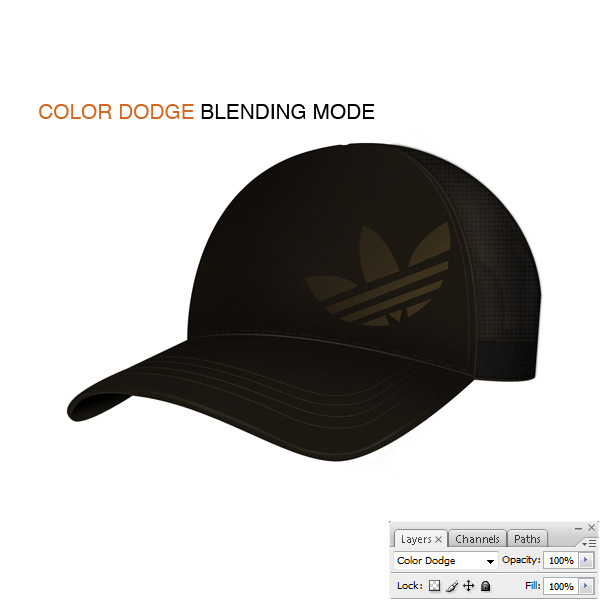 step8b - Design a Realistic 3D Baseball Cap in Photoshop