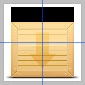 up - How To Design a 3D Wooden Box in Photoshop