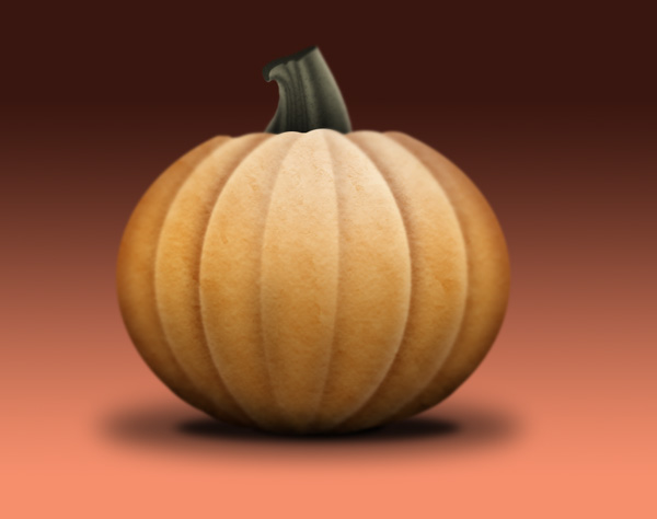 Pumpkin Icon: Final Image