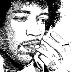 Jimi In Type