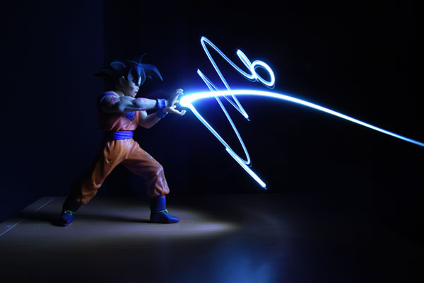 dragon ball z light