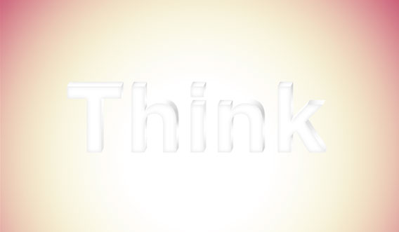 12 - Elegant 3D Text Effect in Photoshop