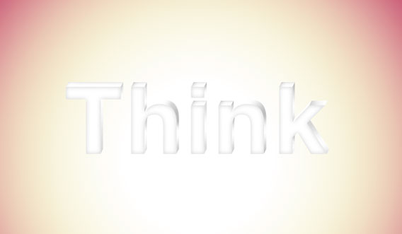 13 - Elegant 3D Text Effect in Photoshop