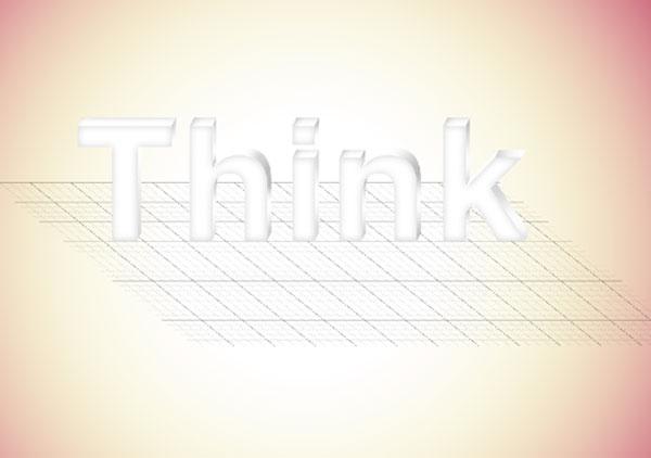 15 - Elegant 3D Text Effect in Photoshop