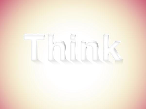 20 - Elegant 3D Text Effect in Photoshop