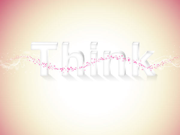 33 - Elegant 3D Text Effect in Photoshop