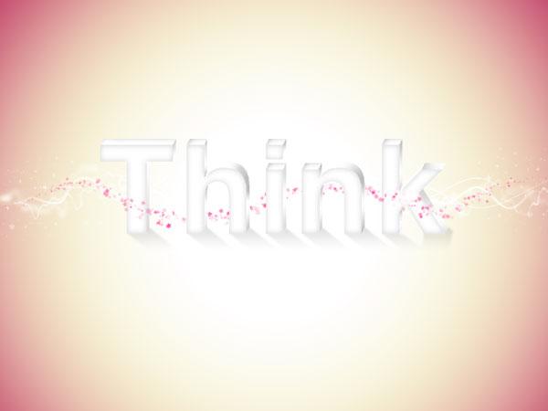 34 - Elegant 3D Text Effect in Photoshop