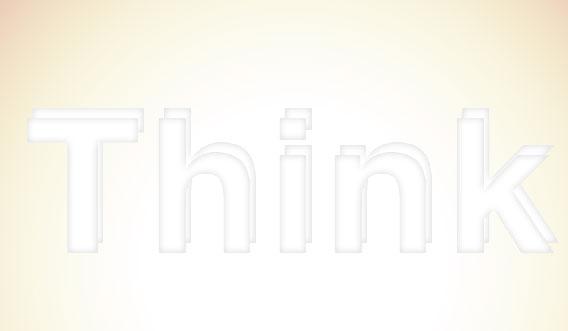 7 - Elegant 3D Text Effect in Photoshop