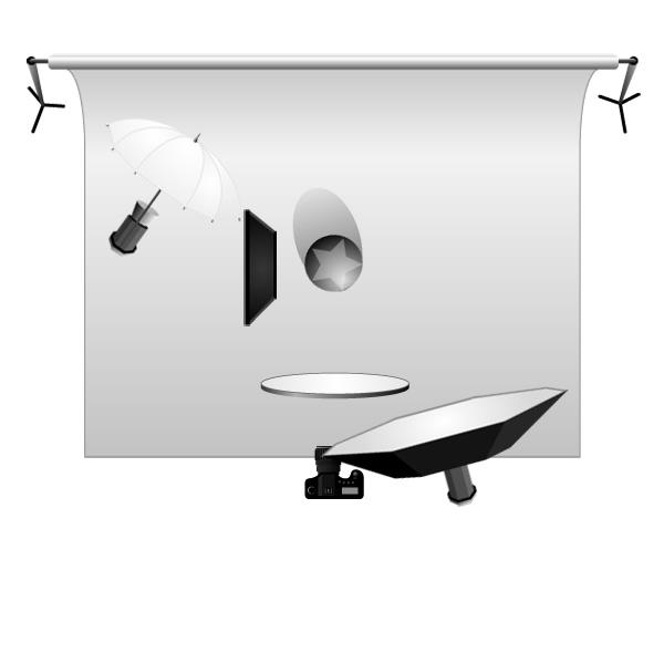 Reflector and Deflector Setup