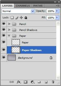 Paper Shadow Layers