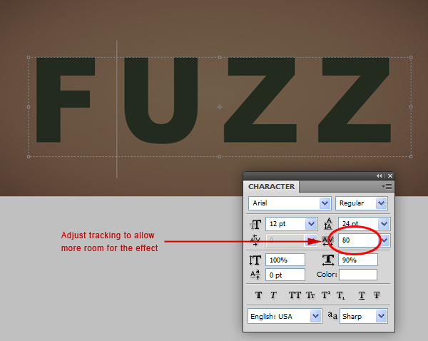 Fuzz step02 - Fuzz/Furry Text Effect (Works great as Grass!)