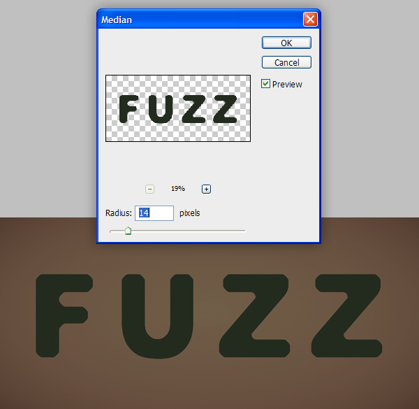 Fuzz step04 - Fuzz/Furry Text Effect (Works great as Grass!)