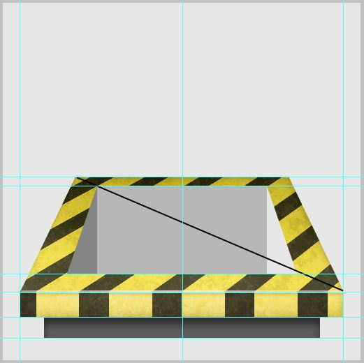 10b - Create a 3D Industrial-style Download Icon in Photoshop