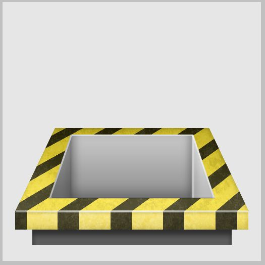 12c - Create a 3D Industrial-style Download Icon in Photoshop