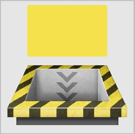14a - Create a 3D Industrial-style Download Icon in Photoshop