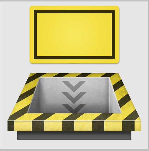 14c - Create a 3D Industrial-style Download Icon in Photoshop