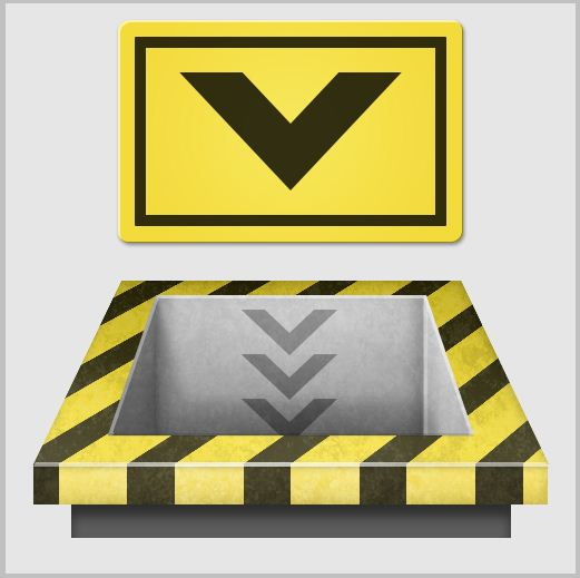 15b - Create a 3D Industrial-style Download Icon in Photoshop