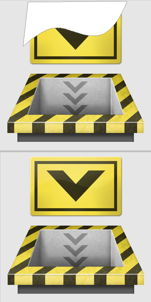 15d - Create a 3D Industrial-style Download Icon in Photoshop