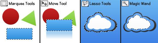 آموزش فتوشاپ - (Toolbox) جعبه ابزار فتوشاپ